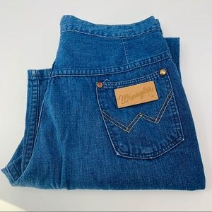 Vintage Wrangler High Rise Bootcut Flare Jeans